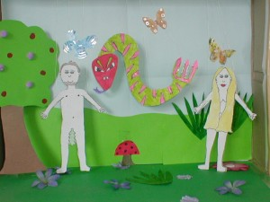 Adam & Eve puppet theatre