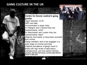 Sub Cultures Gangs in the UK l